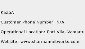 KaZaA Phone Number Customer Service