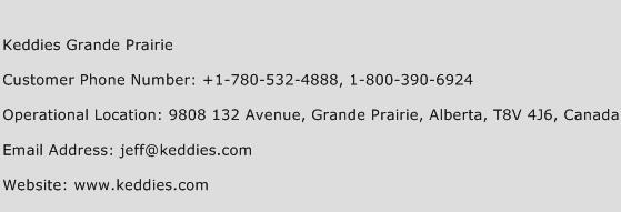 Keddies Grande Prairie Phone Number Customer Service