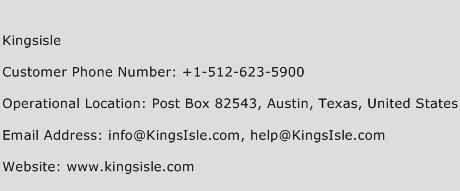 Kingsisle Phone Number Customer Service