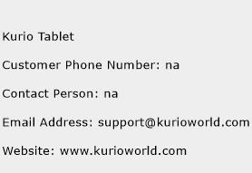 Kurio Tablet Phone Number Customer Service