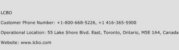 LCBO Phone Number Customer Service