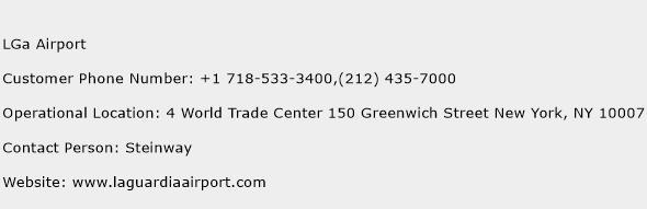 LGa Airport Phone Number Customer Service