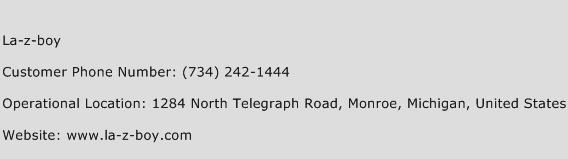 La-z-boy Phone Number Customer Service