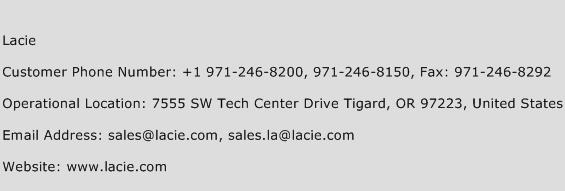 Lacie Phone Number Customer Service