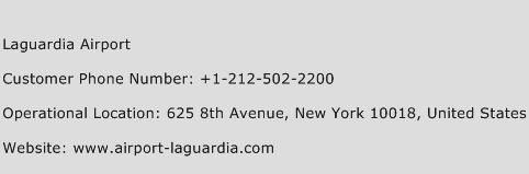 Laguardia Airport Phone Number Customer Service