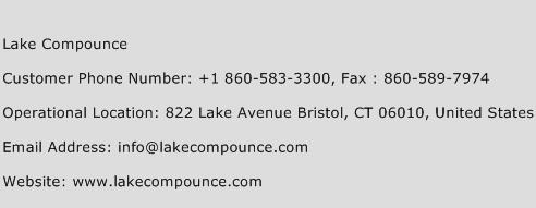 Lake Compounce Phone Number Customer Service