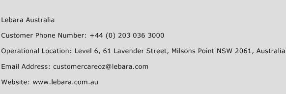lebara australia number lebara australia customer care. Black Bedroom Furniture Sets. Home Design Ideas