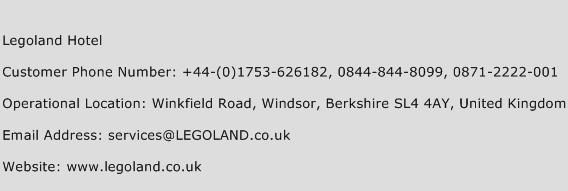 Legoland Hotel Contact Number | Legoland Hotel Customer ...