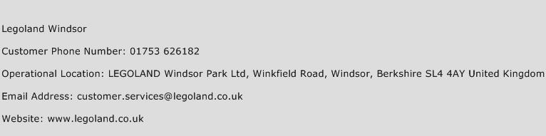 Legoland Windsor Customer Service Phone Number | Contact ...