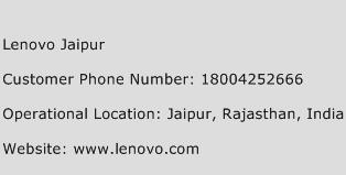 Lenovo Jaipur Phone Number Customer Service