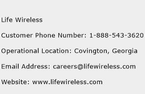 Life Wireless Phone Number Customer Service