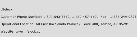 Lifelock Number Lifelock Customer Service Phone Number Lifelock