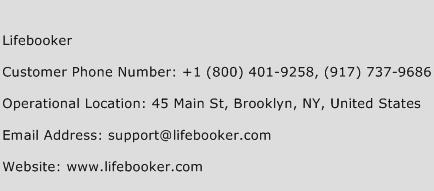 Lifebooker Phone Number Customer Service