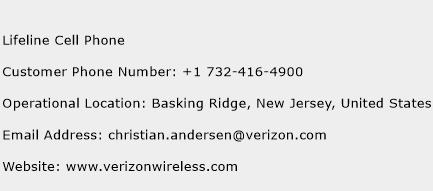 Lifeline Cell Phone Phone Number Customer Service