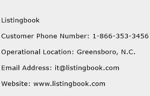 Listingbook Phone Number Customer Service