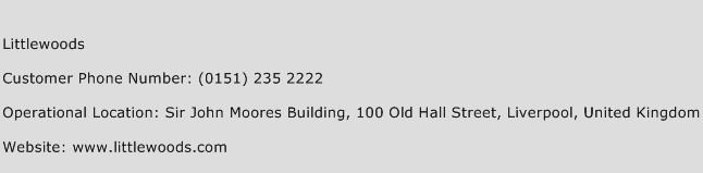 Littlewoods Phone Number Customer Service