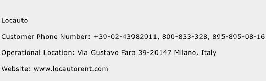 Locauto Phone Number Customer Service