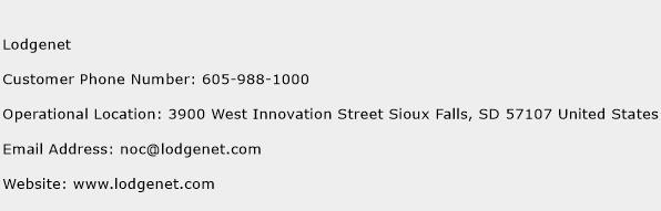 Lodgenet Phone Number Customer Service