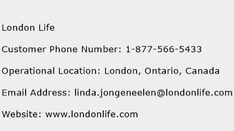 London Life Phone Number Customer Service