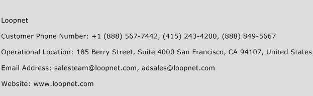 Loopnet Phone Number Customer Service
