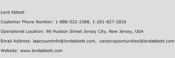 Lord Abbett Phone Number Customer Service
