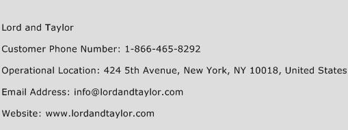 Visit Lord and Taylor Credit Card on the Given Address: