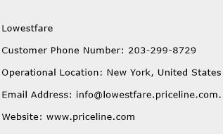 Lowestfare Phone Number Customer Service