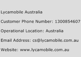 Lycamobile Australia Phone Number Customer Service