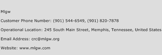 MLGW Phone Number Customer Service