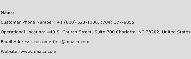 Maaco Phone Number Customer Service