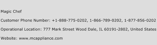 Magic Chef Phone Number Customer Service