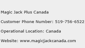 Magic Jack Plus Canada Phone Number Customer Service