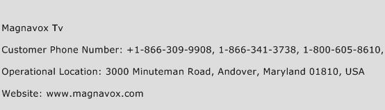 Magnavox Tv Phone Number Customer Service