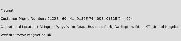 Magnet Phone Number Customer Service