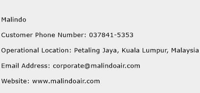 Malindo Phone Number Customer Service