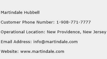 Martindale Hubbell Phone Number Customer Service