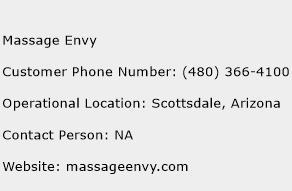 Massage Envy Phone Number Customer Service