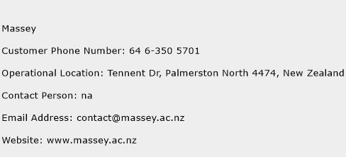 Massey Customer Service Phone Number Contact Toll Free