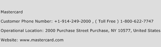 Mastercard Phone Number Customer Service