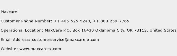Maxcare Customer Service Phone Number Contact Number Toll Free