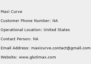 Maxi Curve Phone Number Customer Service