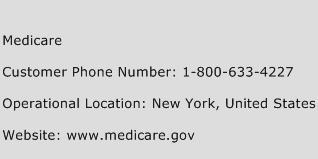 Medicare Phone Number Customer Service