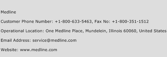 Medline Phone Number Customer Service