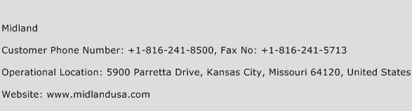 Midland Phone Number Customer Service