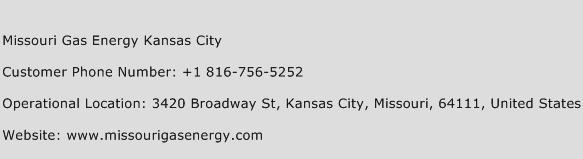 Missouri Gas Energy Kansas City Customer Service Number | Contact ...