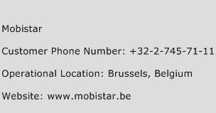 Mobistar Phone Number Customer Service