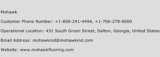 Mohawk Phone Number Customer Service