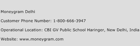 Moneygram Delhi Phone Number Customer Service