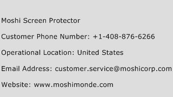 Moshi Screen Protector Phone Number Customer Service