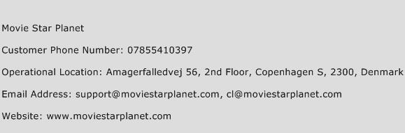 Movie Star Planet Phone Number Customer Service